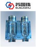 2 processo di soffiatura in forma della bottiglia di acqua delle cavità 5L per la macchina lineare