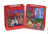 크리스마스에 의하여 인쇄되는 서류상 선물 부대 또는 쇼핑 백 또는 운반대 부대