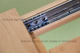 De houten Verlengbare Eettafel van het Vernis van het Vernisje van de Berk UV Matte (advertentie-FA-b601-CT)