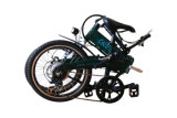 36V 250W Brushless 안녕 Speed Rear Motor Folding E-Bike