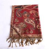 De lange Duidelijke Warme Sjaal Pashmina van de Sjaal voor de Rode Kleur van de Winter