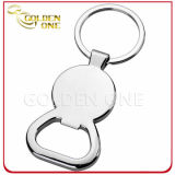 Metal reso personale Trolley Coin Keyring con Bottle Opener