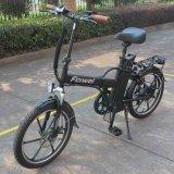 Bici plegable eléctrica con el TUV, SGS (TDN01Z-C2) de la rueda de disco