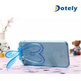 Protetor encantador bonito da tampa da caixa do coelho do silicone do coelho para o iPhone 6 4.7 polegadas
