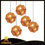 Moderne kupferne Kugel-hängende Lampen-Dekoration (KA1113S1)