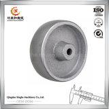 カスタマイズされたプーリー車輪の鋼鉄鋳造プーリー車輪の鋼鉄砂型で作る鋳物場