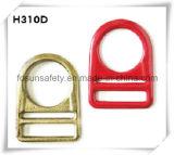 """Anello a """"D"""" del metallo degli accessori del cavo di sicurezza (H310D)"""