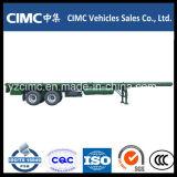 Cimc 40FTの半3axle平面容器のトレーラー