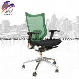Высокий стул сетки шарнирного соединения заднего офиса с заголовником и регулируемым стулом