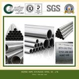 Tubo soldado del acero inoxidable de ASTM Tp347h 316
