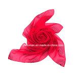 Способ очаровывая шарф красивейших многоточий квадратный для повелительницы