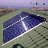 Het Water van de Zonnepanelen van Solarkeymark SRCC met de Pijp van de Hitte van het Glas