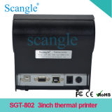 80mm de Printer van de Keuken/POS de Printer van het Ontvangstbewijs/met USB+RS232+Ethernet (RJ45)