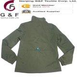 Grüne Nylon-Polyester-Frauen-Abnützung-wasserdichte Umhüllung