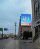 Visualización de pantalla al aire libre impermeable arriba brillante al aire libre de P10 LED