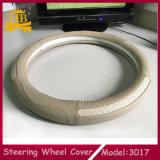Самая новая крышка рулевого колеса автомобиля неподдельной кожи высокого качества конструкции