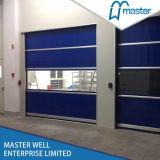 Puerta industrial del balanceo, puerta de alta velocidad del garage, puerta del PVC