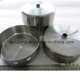 CNC het Draaien Aluminium dat het Schild van de Lamp van de Dienst van het Prototype machinaal bewerkt