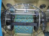 Câblage cuivre nu, fil bidon, double machine se rassemblante de vrillage émaux de fil