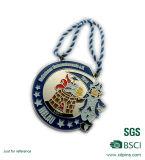 Médaille personnalisée de trou de double de thème de cirque de forme irrégulière