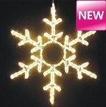 Decoration를 위한 크리스마스 Snowflake Motif Light