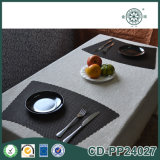 Natte d'endroit faite sur commande de café de dîner de vinyle de forme