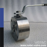 Form oder Forged Edelstahl Italien Wafer Ball Valve mit One Piece Thin Body