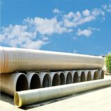 Tubo FRP / GRP de fibra de vidro composta de alta pressão