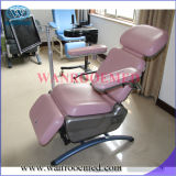 Chaise de ramassage de sang d'hôpital de qualité