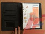Дневник магнита кожаный для тетради PU устроителя