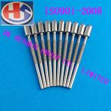 Pinos feitos sob encomenda do plugue do anel da ferragem com metal (HS-BS-026)