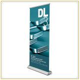 Aluminium rouleau vers le haut l'étalage de drapeau pour la campagne promotionnelle