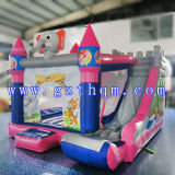 Раздувное Bouncer House с Slide/PVC Inflatable Bouncer/Inflatable Children оживлённый Castle