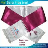 長い絹のサテンのスポーツによって印刷されるギフトのスカーフ(T-NF19F10004)