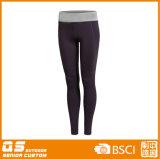 De Sporten die van vrouwen Sneldrogende Polyester/Broek Spandex in werking stellen
