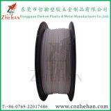 Filament blanc et gris de couleur neuve de Z-ABS Natual de l'impression 3D (terpolymère d'acrylonitrile-butadiène-styrène) 1.75mm