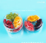 カスタムTransparent Clear Plastic Food Container (PETの皿)