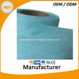 Wipes чистки ткани Nonwoven Woodpulp PP Spunlace фабрики Nonwoven
