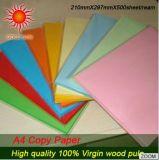 100% Pâte à bois Papier coloré A4