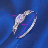 중국 도매 새로운 Xuping 형식 로듐 다이아몬드 - 도금된 팔찌