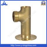 encaixe de câmara de ar ereto da tubulação da linha do bronze FM (YD-6032)
