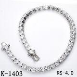 Pulsera de plata de la joyería del diamante de la joyería 925 de la manera de Hotsale