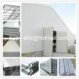 Estructura de acero de la construcción profesional granja avícola