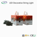 Luz da corda da decoração do diodo emissor de luz para o partido de jardim do Natal