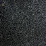 Couro sintético elegante do plutônio Microfiber do PVC para o sofá (HS-QF03)