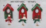 Doorknob della decorazione di natale della renna del pupazzo di neve della Santa