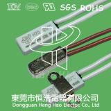 Interruptor del sensor de temperatura para la batería recargable