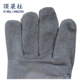 """10.5の""""製造業者からの牛革溶接の安全手袋"""