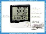 Крытый/напольный влагомер цифрового термометра с часами