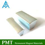 Ímã permanente de N42uh com material magnético do Praseodymium do Neodymium